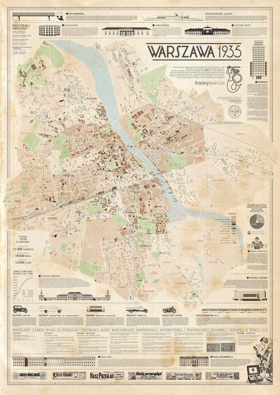 Mapy Nie Klamia W 1935 R Warszawa Byla Piekna Konkurs