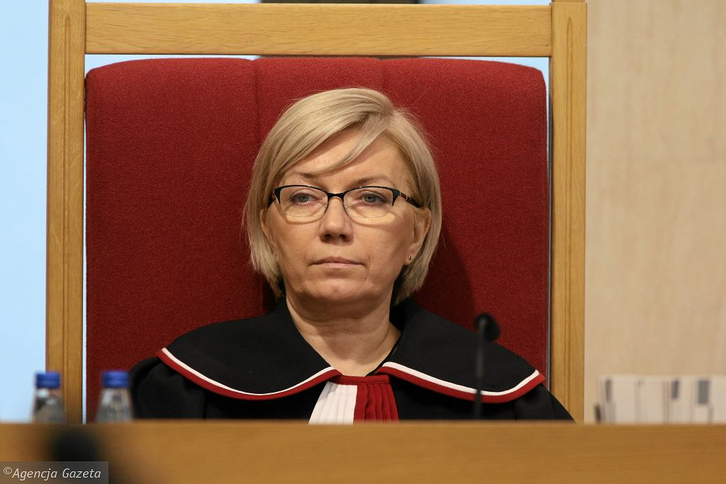 Sędzia Julia Przyłębska (fot. Sławomir Kamiński/AG)
