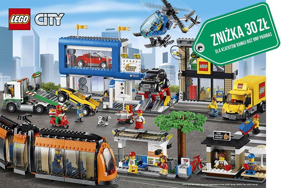 Zyskaj zniżkę na klocki LEGO City