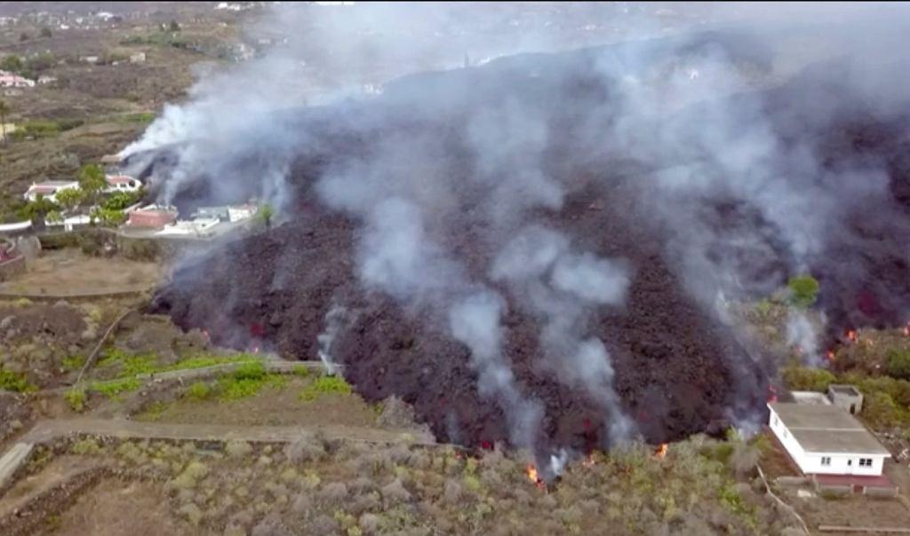 Wybuch wulkanu na La Palmie