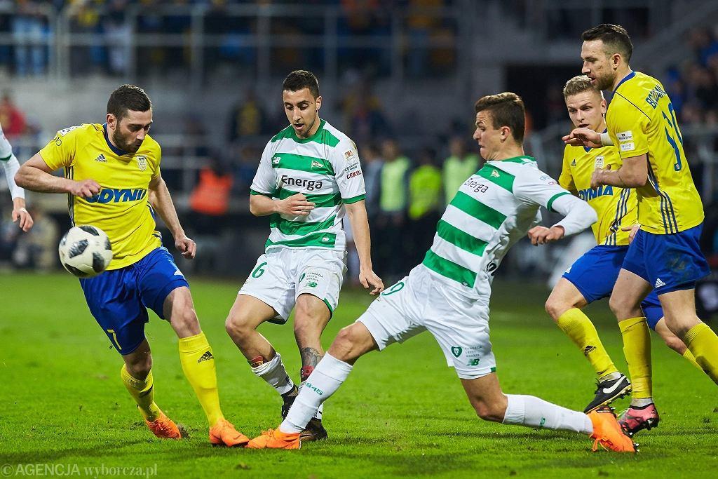 Lechia i Arka po raz ostatni zmierzyli się 13 kwietnia 2018 roku w Gdyni. Goście wygrali 2:1