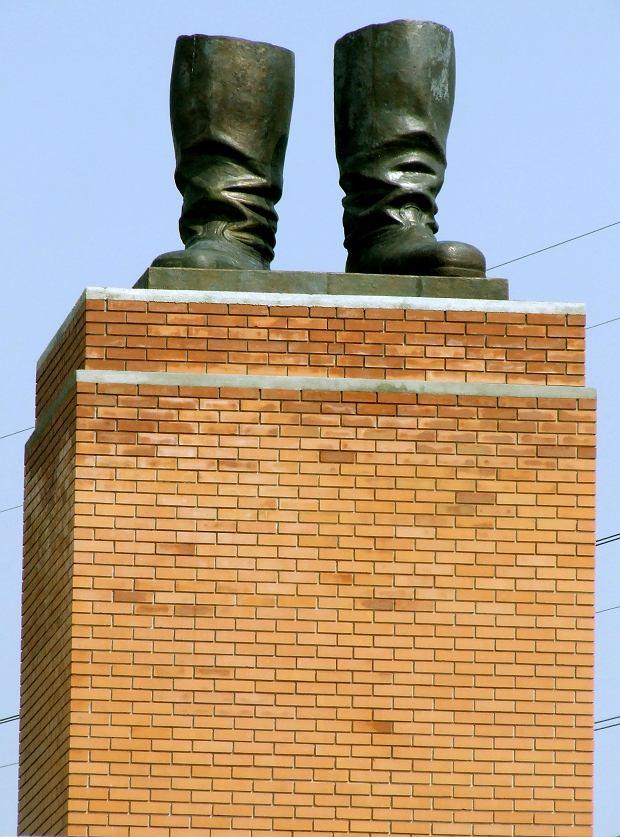 Buty Stalina w Memento Park