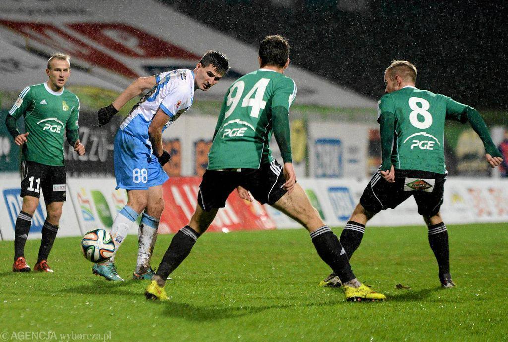 I liga. Stomil Olsztyn - GKS Bełchatów 0:2