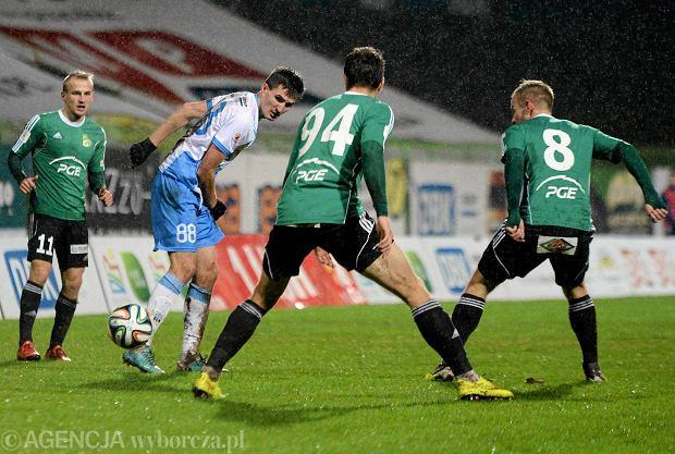 PGE GKS Bełchatów przegrał w pierwszym zimowym sparingu