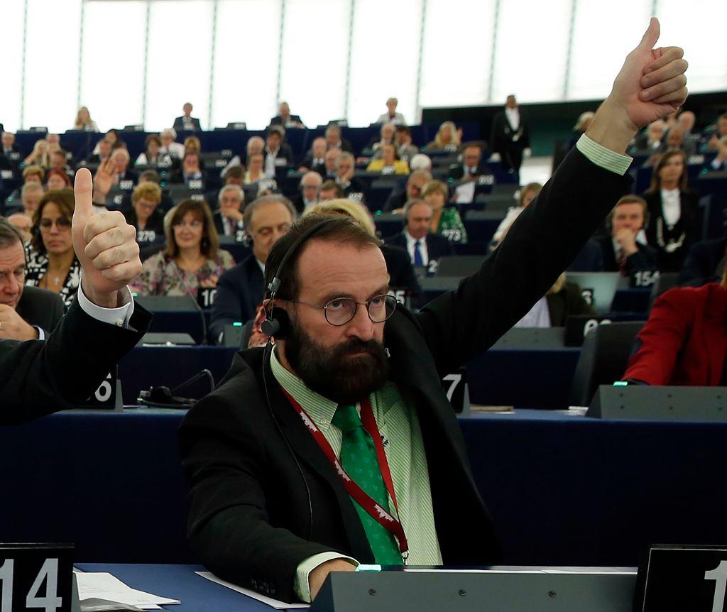 Węgierski eurodeputowany József Szájer