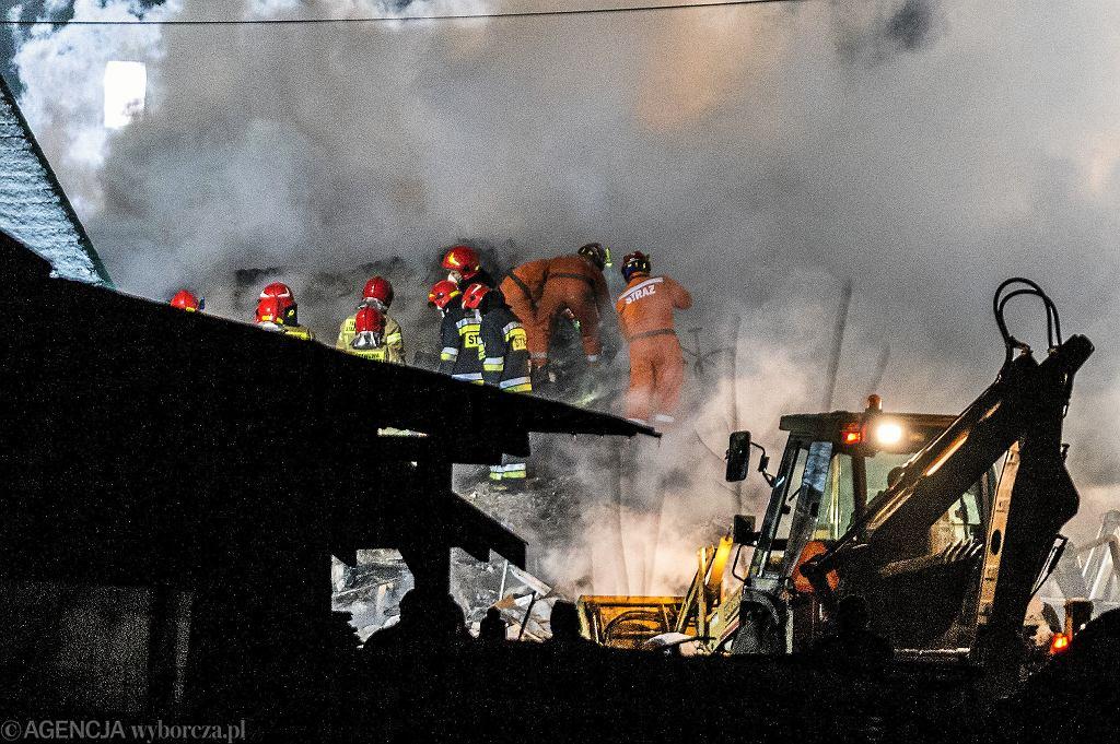 Wybuch gazu w Szczyrku