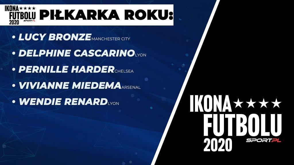 Ikona Futbolu Sport.pl 2020 - Nominowane piłkarki