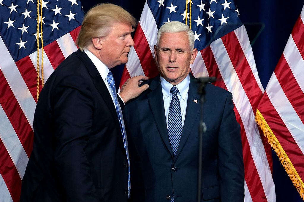 Donald Trump, Mike Pence