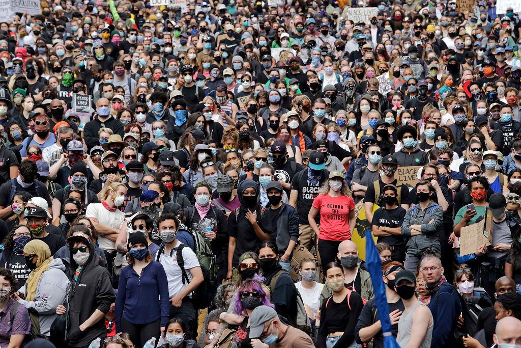 Protest Black Lives Matter po śmierci George'a Floyda