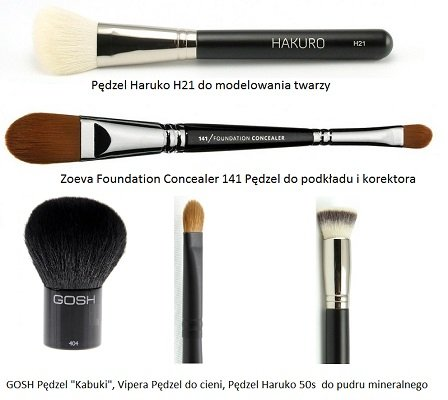 sprzedaż uk zawsze popularny sklep dyskontowy Pędzle do makijażu - zobacz, które powinny znaleźć się w ...