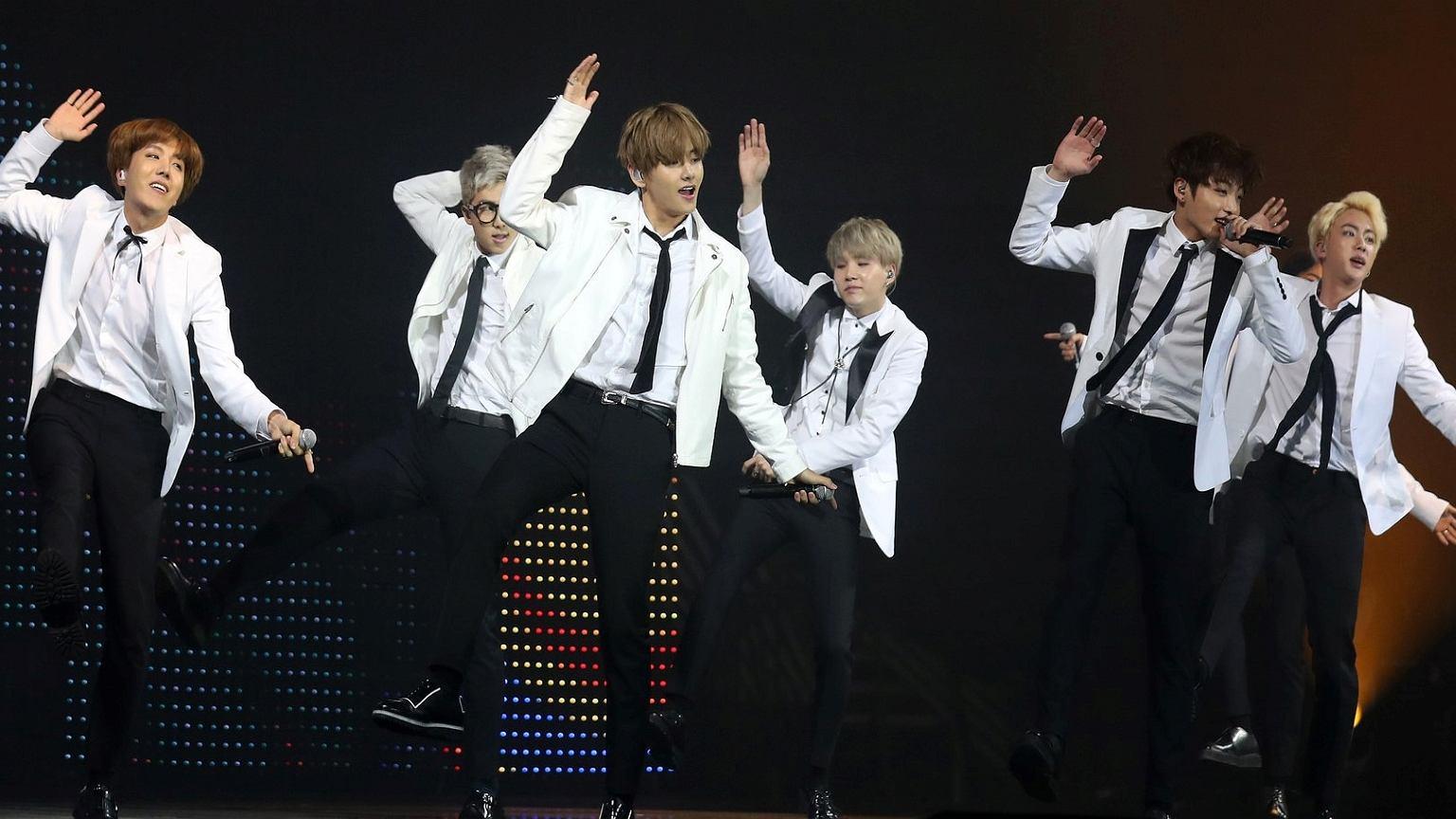 Koreański zespół BTS