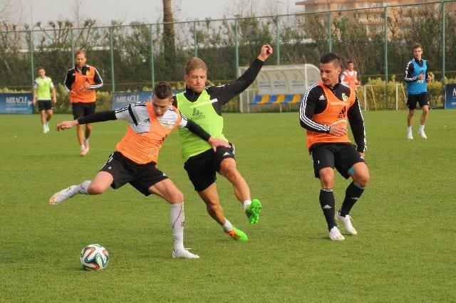 Piłkarze PGE GKS na zgrupowaniu w Turcji