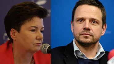Hanna Gronkiewicz Waltz i Rafał Trzaskowski