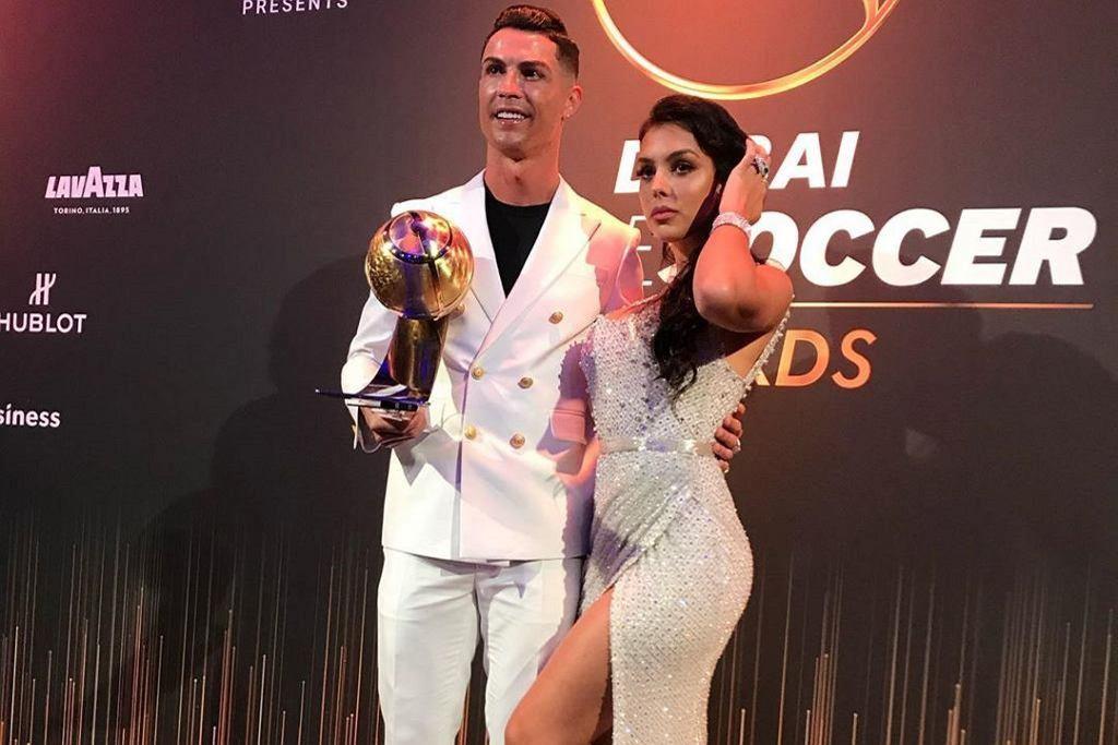 Ronaldo z partnerką