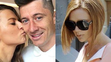 Anna Lewandowska, Robert Lewandowski, Victoria Beckham
