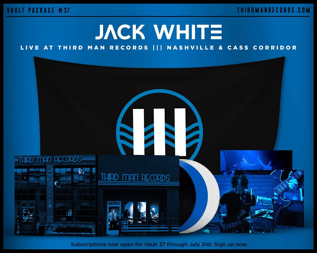 Jack White 'Live in Nashville / Live in Detroit'