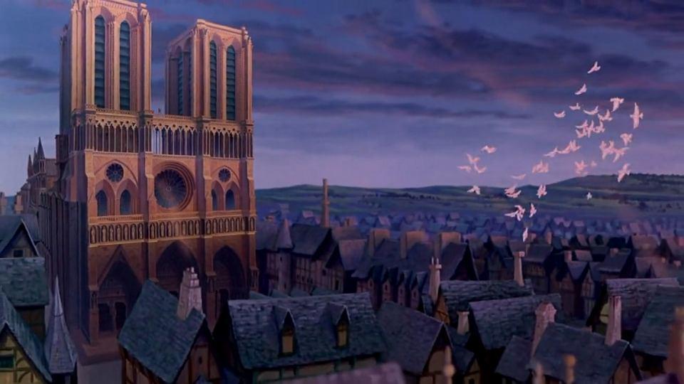 Kadr z filmu 'Dzwonnik z Notre-Dame'