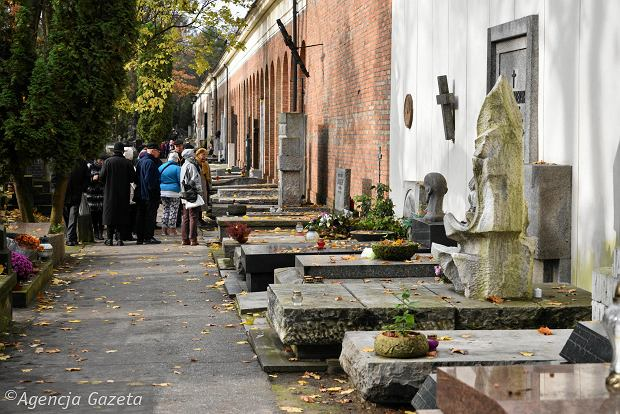 Zdjęcie numer 19 w galerii - Wszystkich Świętych. Tu spoczywa Władysław Reymont i Wojciech Młynarski. Groby w Alei Zasłużonych na Starych Powązkach [ZDJĘCIA]