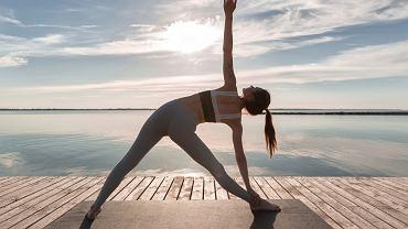 Trening mobilności, joga, rozciąganie
