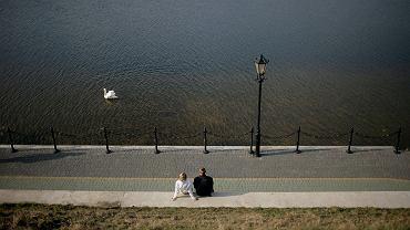 Nabrzeże nad Jeziorem Ełckim