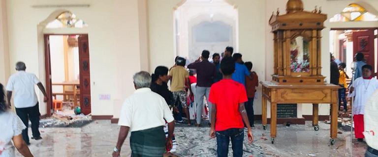 Zamachy na Sri Lance, ofiar może być więcej.