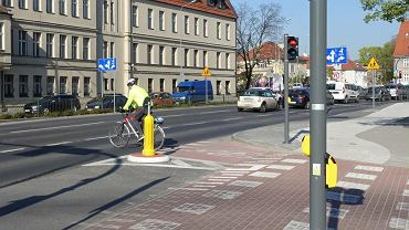 Ul. Solna w Poznaniu. Tu zostanie otwarte nowe skrzyżowanie dla rowerzystów z sygnalizacją świetlną.