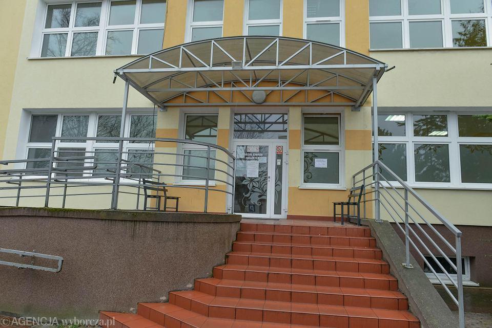 Szpital w Zielonej Górze.
