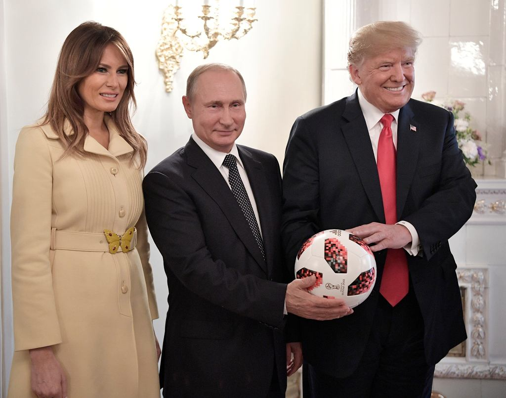 Melania Trump, Władimir Putin, Donald Trump