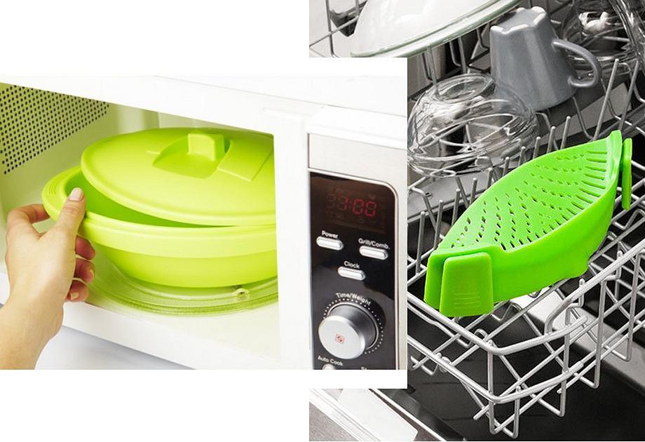 Silikonowe akcesoria kuchenne
