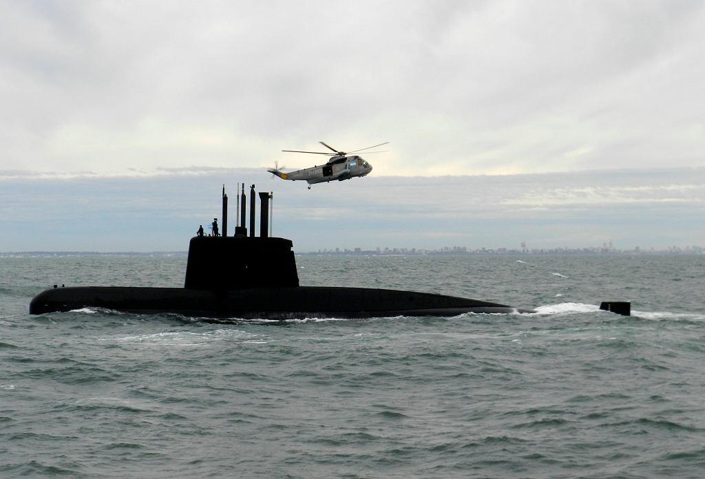 Argentyński okręt podwodny 'San Juan'