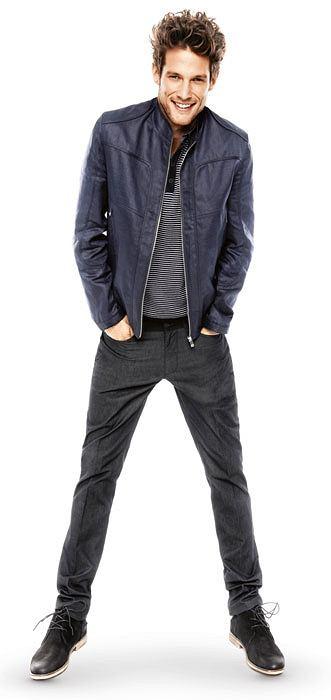 Styl: co nosimy tego lata, styl, moda męska, Z kolekcji Z kolekcji Reserved: kurtka - cena: 89,90 zł, spodnie - cena: 129,90 zł, reserved