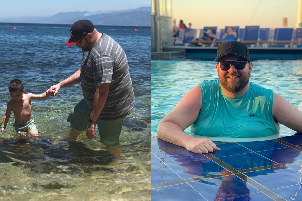 Kurt Cline zrzucił 63 kilogramy