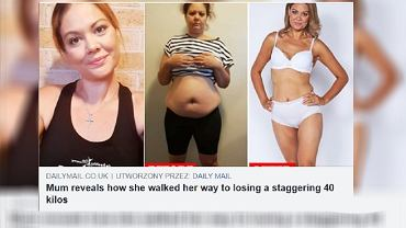 Mama schudła 42 kilogramy w 12 miesięcy