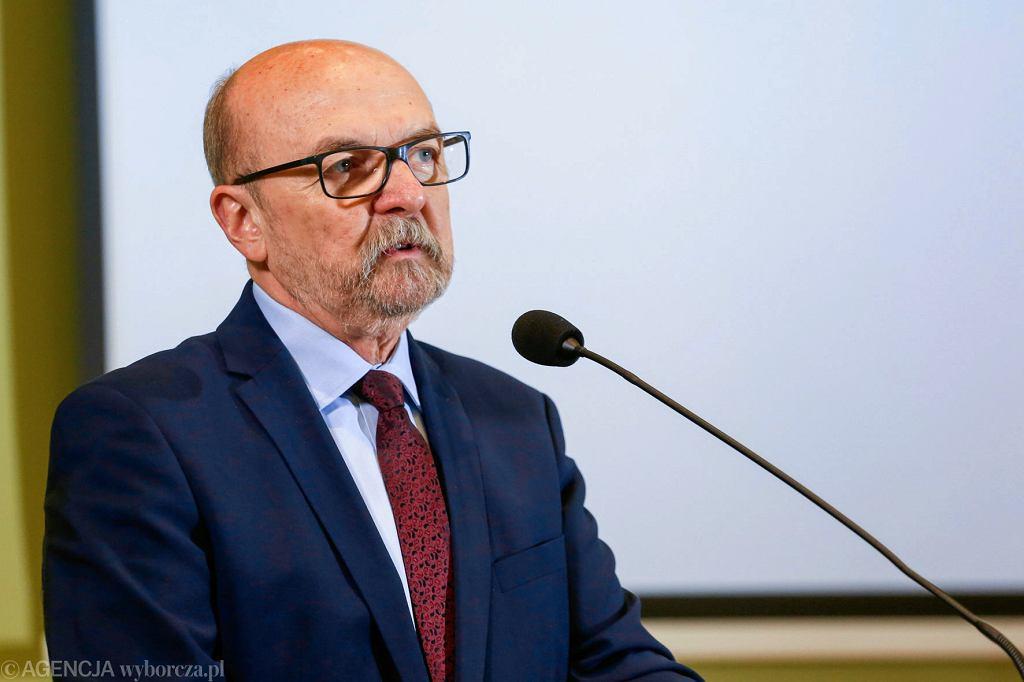 Prof. Ryszard Legutko, europoseł PiS