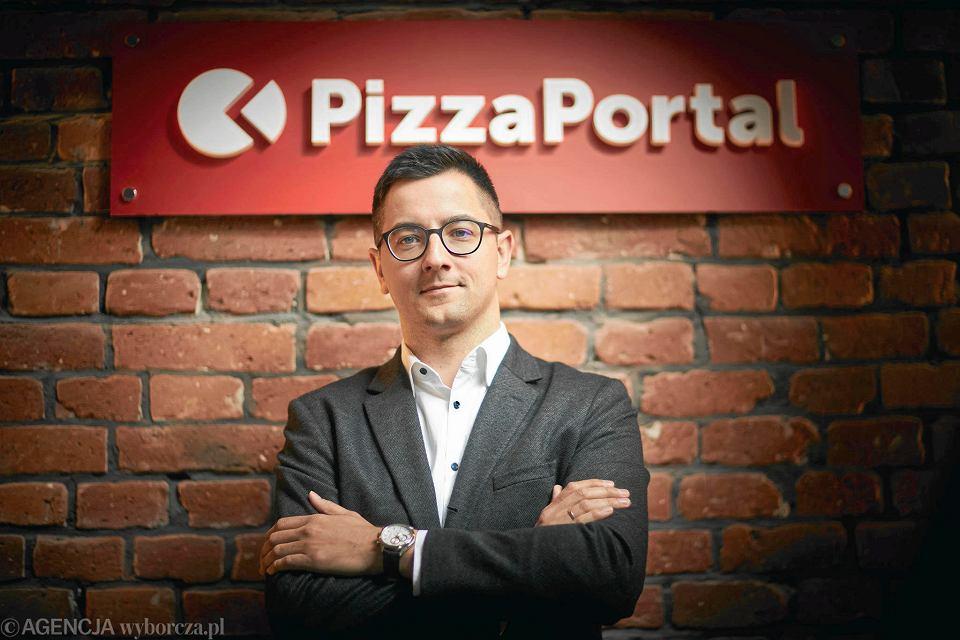 Piotr Kruszyński, dyrektor zarządzający (CEO) PizzaPortal