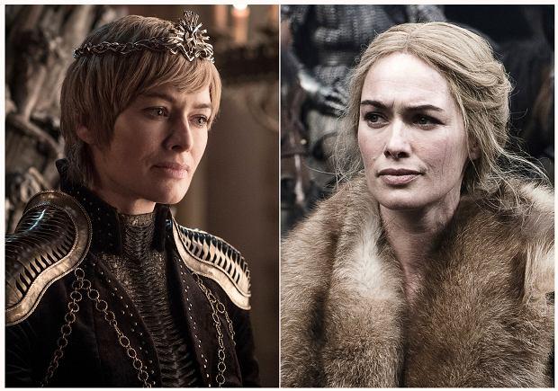 Lena Headey jako Cersei Lannister w Grze o Tron