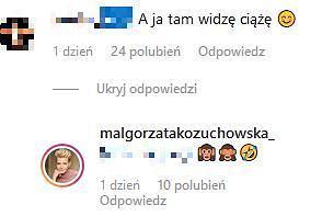 Małgorzata Kożuchowska odpowiada fankom