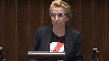 Joanna Scheuring-Wielgus w Sejmie