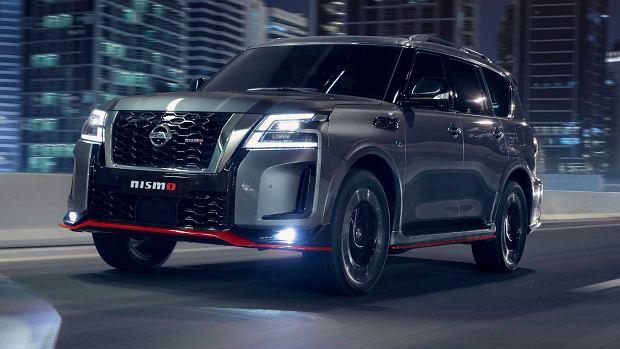Nissan Patrol w wersji Nismo. Wygląda agresywnie i dostojnie
