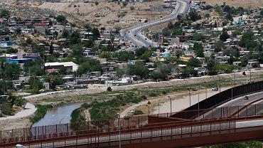 Granica USA i Meksyku.