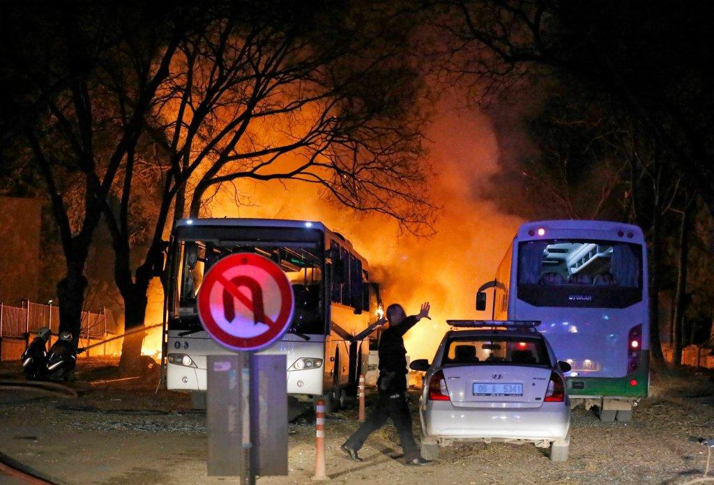 W weekend doszło do ataku terrorystycznego w Ankarze. Zginęło ponad 30 osób, jest wielu rannych
