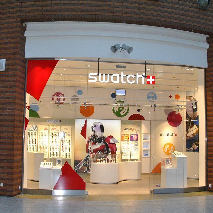 Salon Swatch w Krakowie