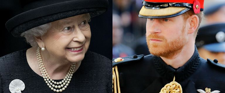 """Królowa Elżbieta wydała rozkaz. Żałobnicy będą ubrani tak jak Harry. """"Istniało ryzyko żenady"""""""