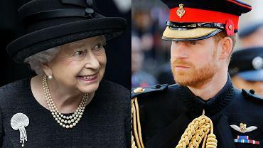 """Królowa Elżbieta zadbała o Harry'ego? Wydała rozkaz, by wszyscy na pogrzebie byli ubrani tak jak on. """"Istniało ryzyko żenady"""""""
