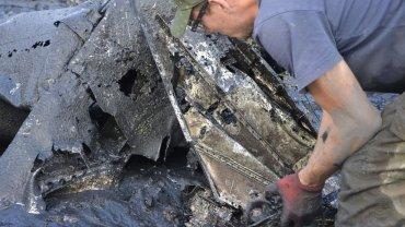 Akcja wydobycia wraku radzieckiego samolotu trwała całą niedzielę