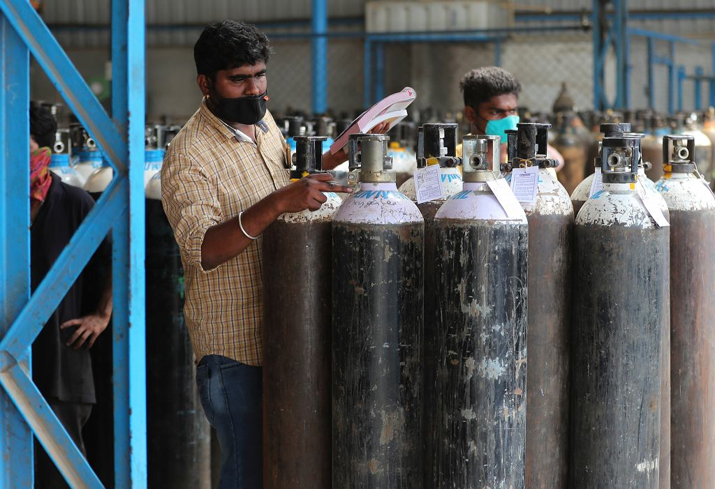 W Indiach tlen jest na wagę złota
