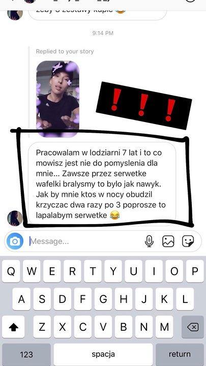 Ewa Chodakowska oburzona zachowaniem pani sprzedającej lody