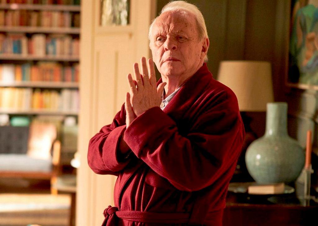 Anthony Hopkins w filmie 'Ojciec'