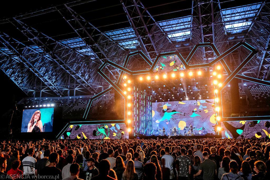 Epidemia koronawirusa. Europejski Stadion Kultury nie odbędzie się w czerwcu. Na zdjęciu koncert The Dumplings i Luny (Ukraina)