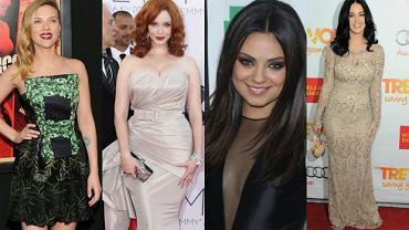 Scarlett Johansson, Christina Hendricks, Mila Kunis, Katy Perry